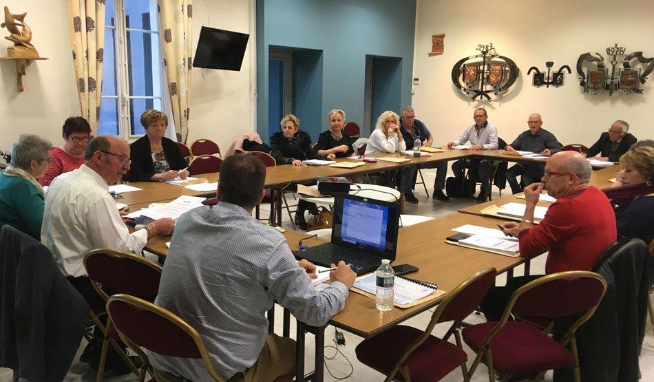 Vote du budget primitif et orientations générales du PLU