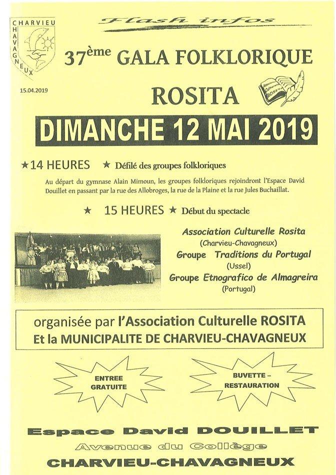 37e Gala Folklorique ROSITA