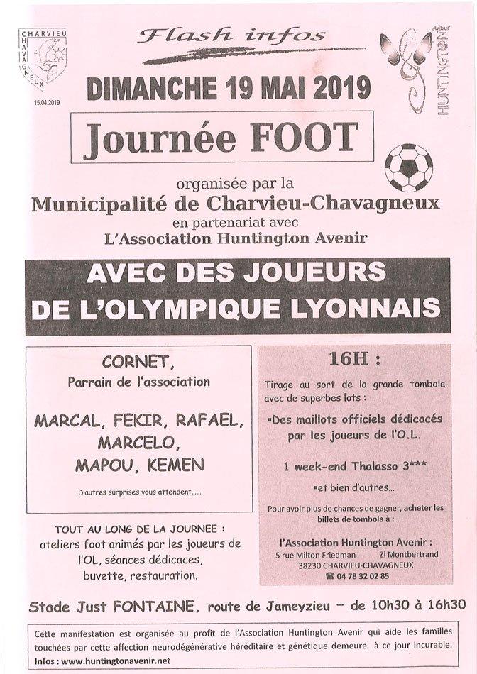 Journée Foot avec les joueurs de l'Olympique Lyonnais