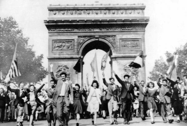 Cérémonie pour la Victoire de 1945