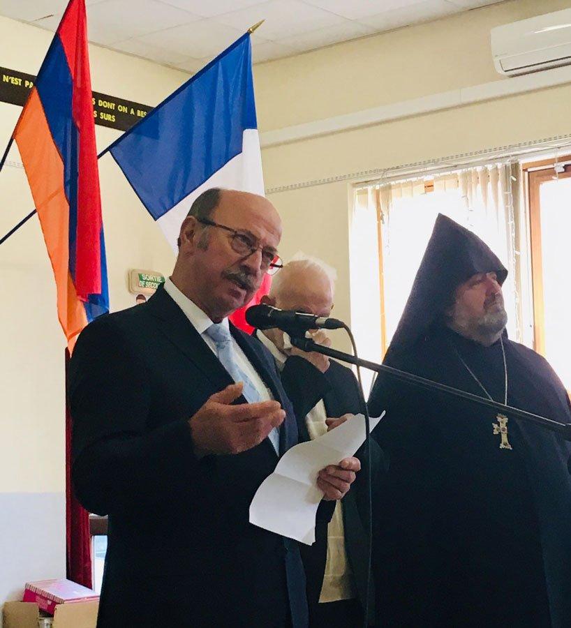 Commémoration du génocide arménien : le discours de Gérard DEZEMPTE