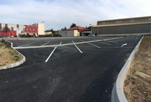 Nouveau parking rue des Allobroges