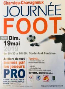 Journée FOOT à Charvieu-Chavagneux @ Stade Just Fontaine