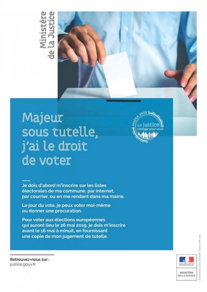 Majeurs sous-tutelle : j'ai le droit de voter