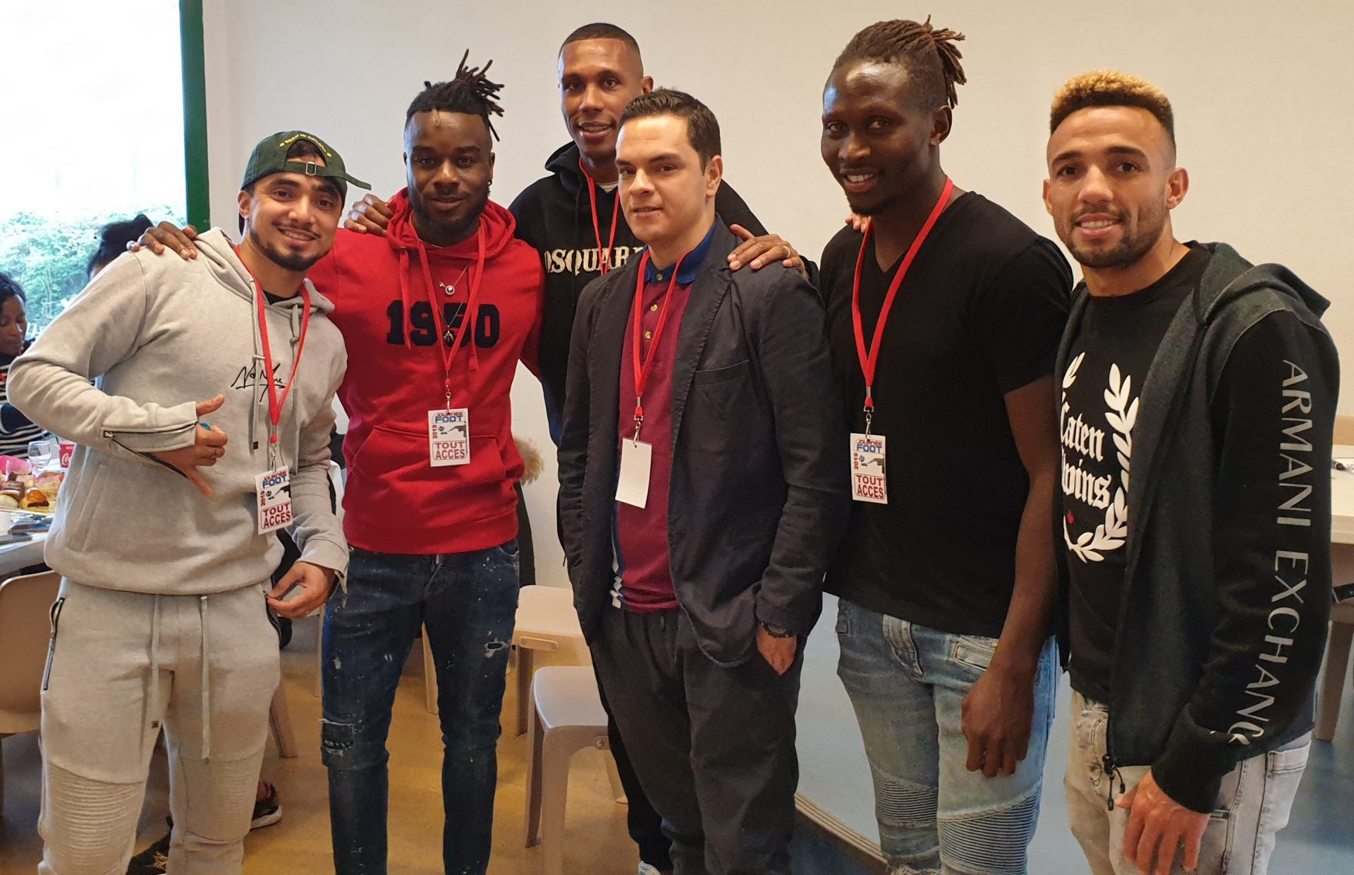 Journée Foot : Encore un grand merci à nos joueurs de l'OL d'avoir été présents