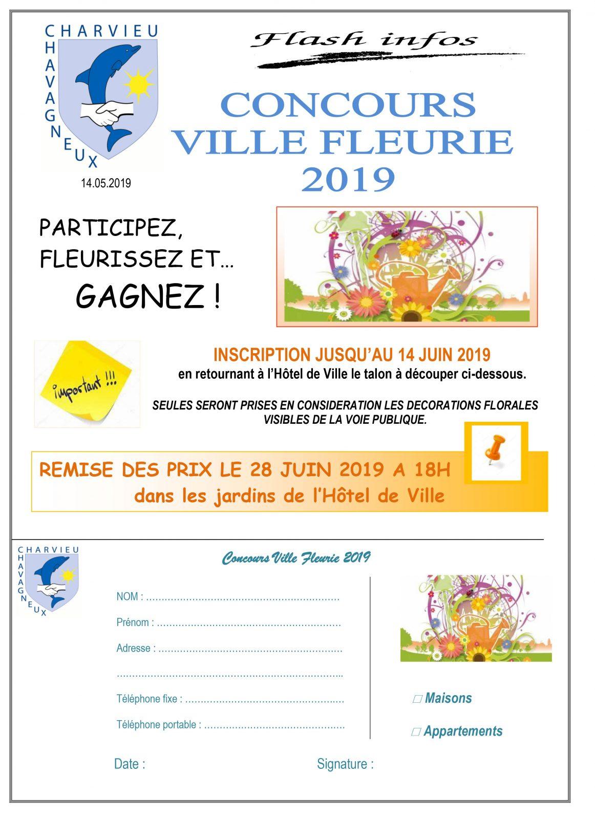 Concours 2019 Ville fleurie