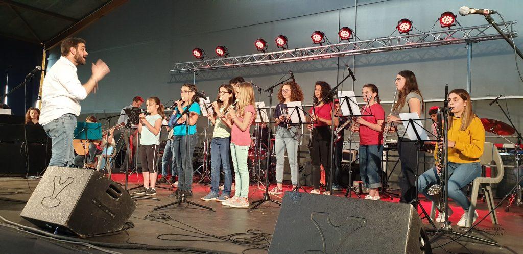 Un spectacle de fin d'année réussi pour l'Ecole de musique