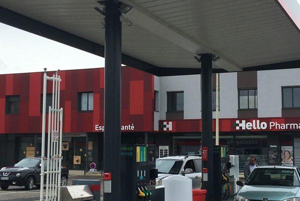 La station de carburant de la rue des Allobroges est opérationnelle