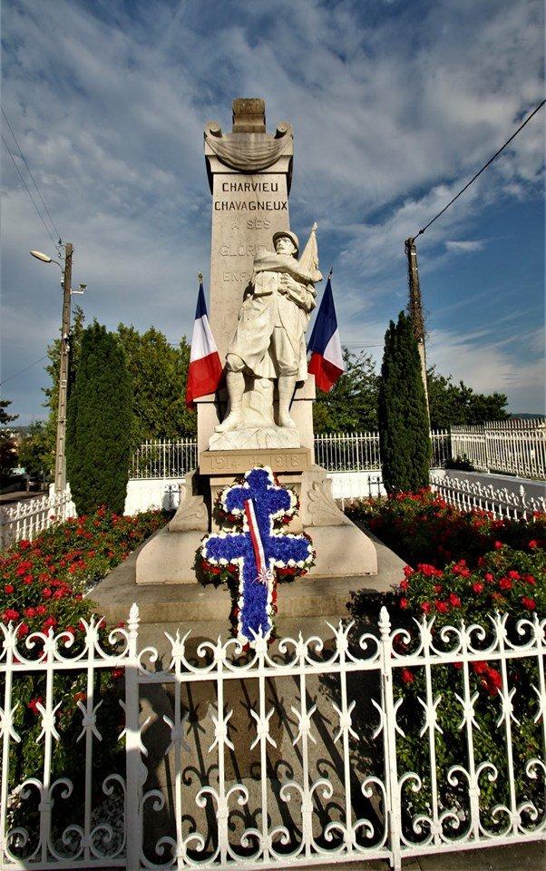 Appel du 18 Juin : à Charvieu-Chavagneux, la flamme de la Résistance brûle toujours !