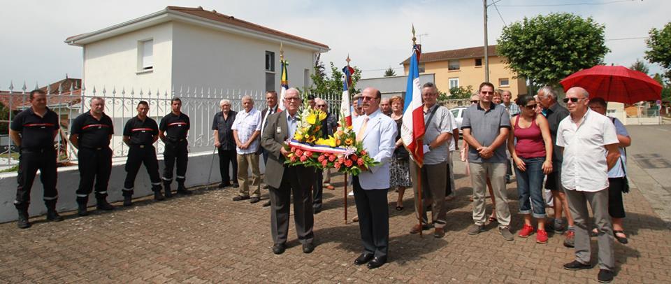 Dépôt d'une Gerbe au Monument aux Morts pour la Fête nationale du 14 Juillet