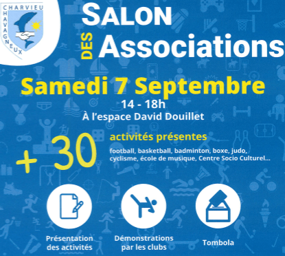 Salon des Associations le 7 septembre