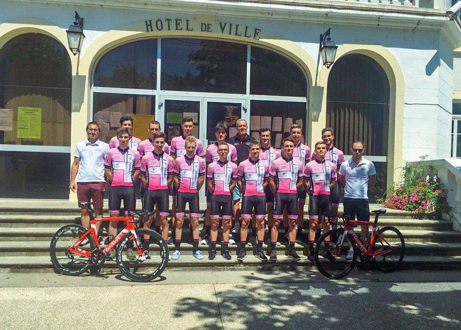 Grand Prix cycliste de Charvieu-Chavagneux : une 3ème place au podium pour notre club !