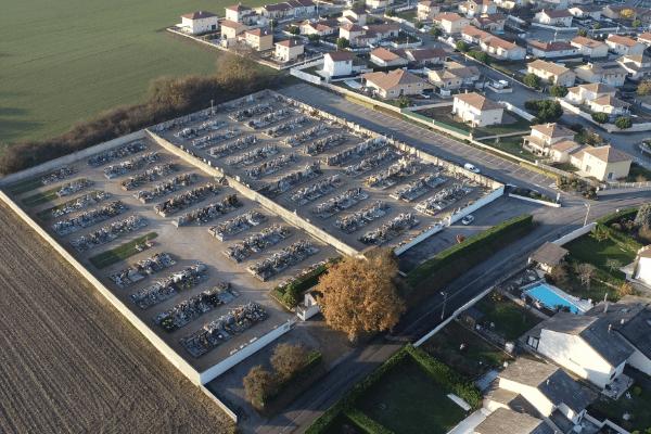 Avis du Maire sur les travaux de cimetière du Lundi 28 octobre au Vendredi 1er Novembre inclus