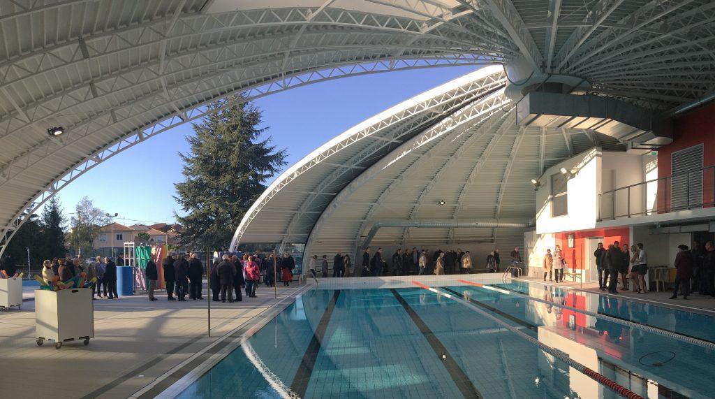 Inauguration de la piscine intercommunale de Charvieu-Chavagneux
