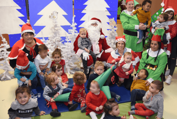 Spectacle de Noël de la Garderie « à la recherche des Rennes perdus »