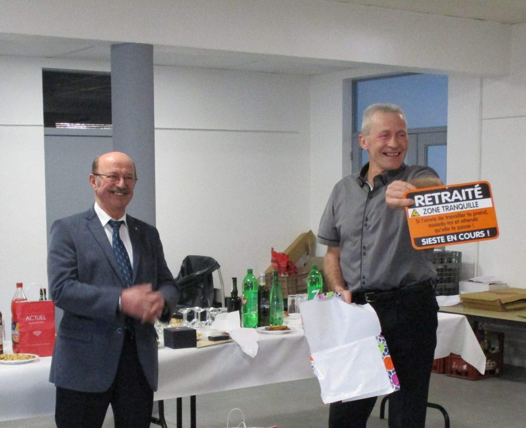 Bon départ en retraite à Hubert Guillermard !