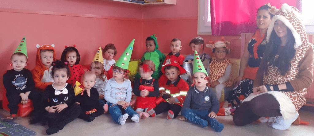 Les enfants du Multi-Accueil fêtent Mardi Gras !