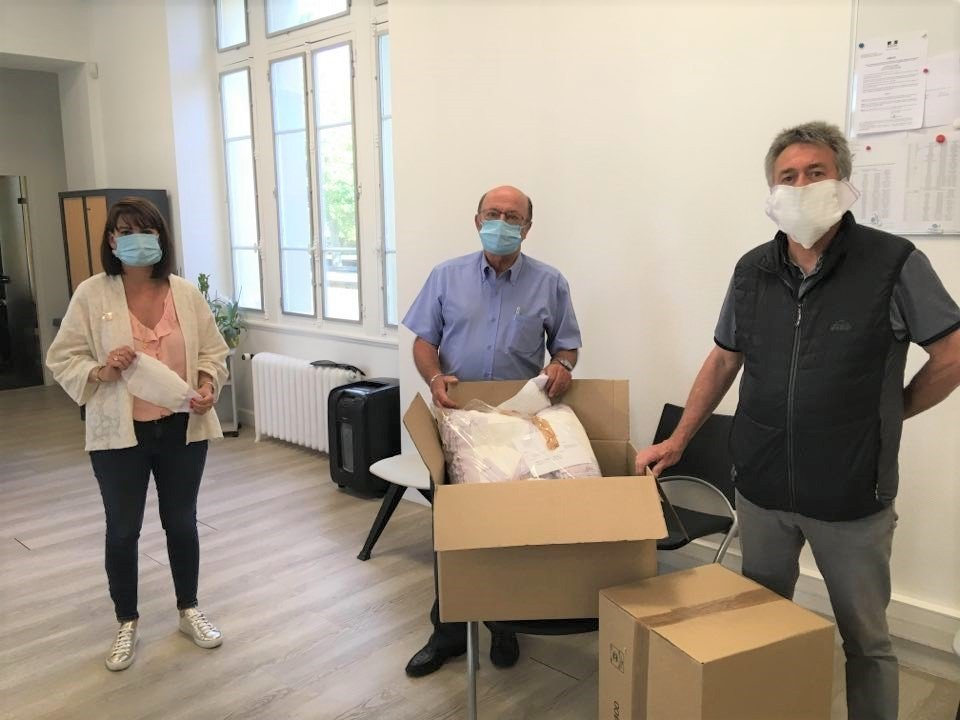La Commune va démarrer la distribution de masques dans les boites aux lettres