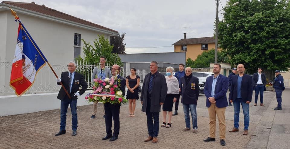 Cérémonie d'hommage aux morts pour la France en Indochine – Discours de Gérard Dézempte - 8 juin