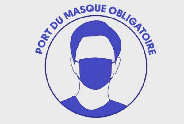 PORT DU MASQUE OBLIGATOIRE SUR LE MARCHÉ DE CHARVIEU-CHAVAGNEUX