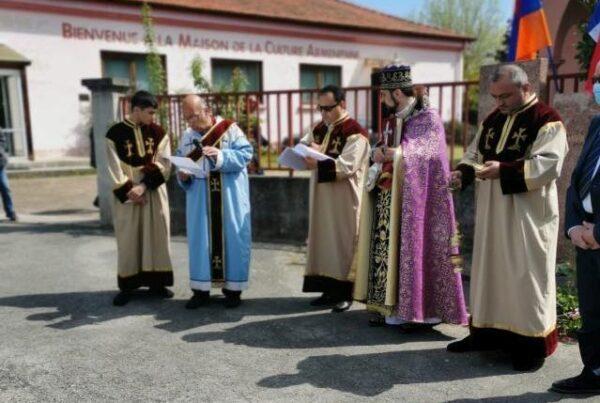 Commémoration du génocide Arménien du 24 avril 2021 - Discours de Gérard Dézempte