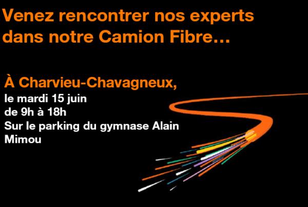 Mission d'information Orange sur la Fibre Optique le 15 juin au parking Alain Mimoun