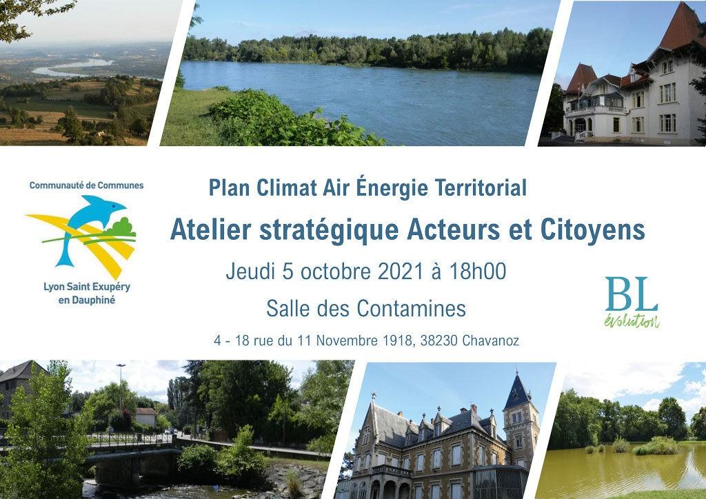 Réunion Publique Plan Climat Air Énergie Territorial Atelier stratégique Acteurs et Citoyens